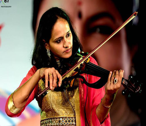Indian Violinist Roopa Revathi