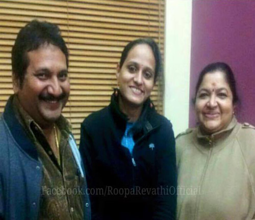 Roopa Revathi with Mano and K S Chithra