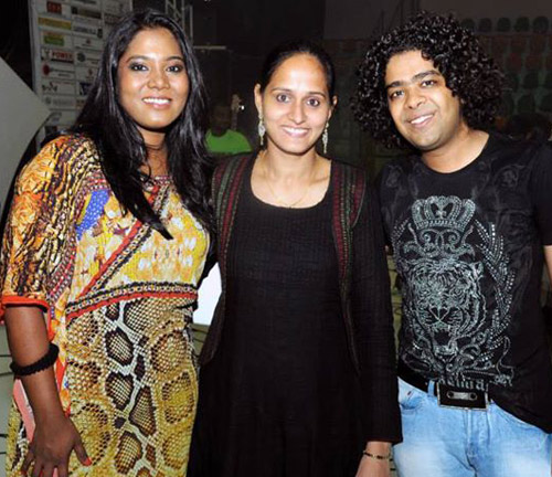 Roopa Revathi with Sayanora Philip and Naresh Iyer