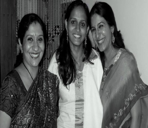 Roopa Revathi with Sujatha Mohan and Shweta Mohan