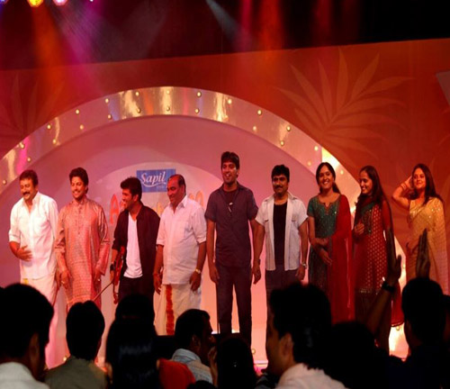 Roopa Revathi with celebrities